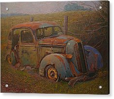 Yesteryear Acrylic Print by Terry Perham