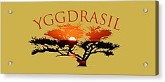 Yggdrasil- The World Tree Acrylic Print