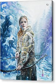Ygritte The Wilding Acrylic Print