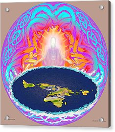 Yhwh Creation Acrylic Print