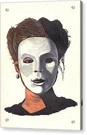 Yin And Yang Acrylic Print by Jean Haynes