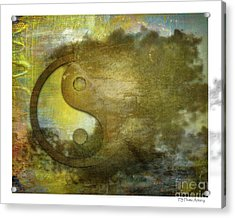Ying And Yang Unbalanced Acrylic Print
