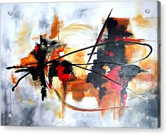 Ying Yang Acrylic Print by Jane Robinson