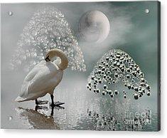 Yinyang - Moon Acrylic Print