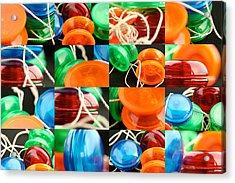 Yo-yos Acrylic Print