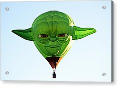 Acrylic Print featuring the photograph Yoda  by AJ Schibig