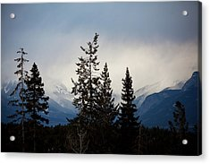Acrylic Print featuring the photograph Yoho Mountains British Columbia Canada by Jane Melgaard