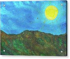 Yokun Ridge Acrylic Print by Scott Harrington