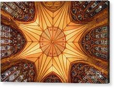 York Minster - Chapter House Acrylic Print