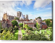 Acrylic Print featuring the photograph York Minster by Colin and Linda McKie