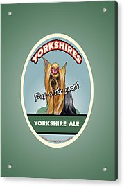 Yorkshire Ale Acrylic Print