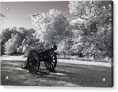 Yorktown - Cannon Acrylic Print