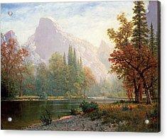 Yosemite Acrylic Print by MotionAge Designs