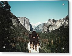 Yosemite Awe Acrylic Print