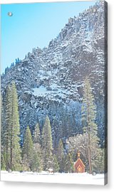 Yosemite Chapel Acrylic Print