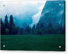 Yosemite Clouds II Acrylic Print by Chris Gudger