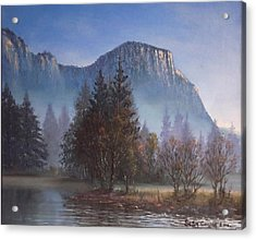 Yosemite Dawn Acrylic Print by Sean Conlon