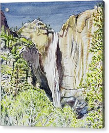 Yosemite Falls California Acrylic Print by Patricia Buckley