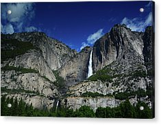 Yosemite Falls From Cook's Meadow Acrylic Print