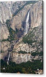 Acrylic Print featuring the photograph Yosemite Falls by Lynn Bawden