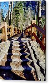Yosemite Footbridge  Acrylic Print