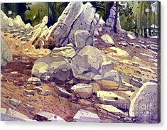 Yosemite Granite Acrylic Print by Donald Maier