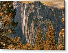 Yosemite In Fall Acrylic Print by Michael Cleere