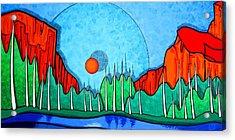 Yosemite Acrylic Print by Jason Charles Allen