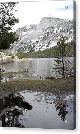 Yosemite Lake Reflections Acrylic Print