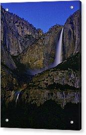 Yosemite Moonbow 2 Acrylic Print