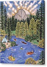 Yosemite National Park Acrylic Print by Linda Mears