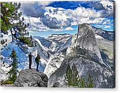 Yosemite Overlook Acrylic Print by Dennis Cox WorldViews