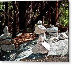Yosemite Rock Art  Acrylic Print