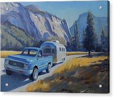 Yosemite Splendor Acrylic Print