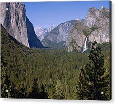 Yosemite Tunnel View Acrylic Print by Stephen  Vecchiotti