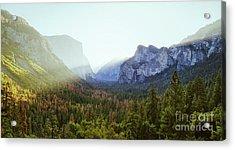 Yosemite Valley Awakening Acrylic Print by JR Photography