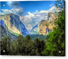 Yosemite Valley Acrylic Print