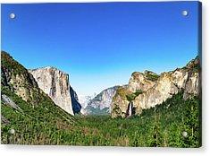 Yosemite Valley- Acrylic Print