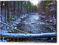 Yosemite Valley Merced River Acrylic Print by Garry Gay