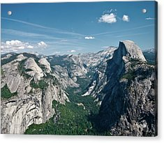 Yosemite Valley Acrylic Print by Photo by Lars Oppermann