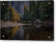 Yosemite Valley Reflections 1 Acrylic Print