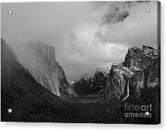 Yosemite Valley Acrylic Print by Richard Verkuyl