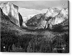 Yosemite Valley Acrylic Print by Sandra Bronstein