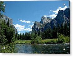 Yosemite Valley View X Acrylic Print