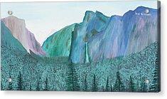 Yosemite View Acrylic Print