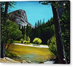 Yosemite's Window Acrylic Print by Elizabeth Robinette Tyndall
