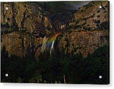 Yosemite Moonbow 3 Acrylic Print