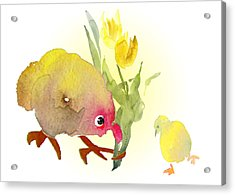 You Are The Cutest Thing Ever Acrylic Print by Miki De Goodaboom