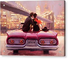 Acrylic Print featuring the painting You Are The One by Steve Henderson
