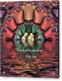 You Are The Spell Acrylic Print